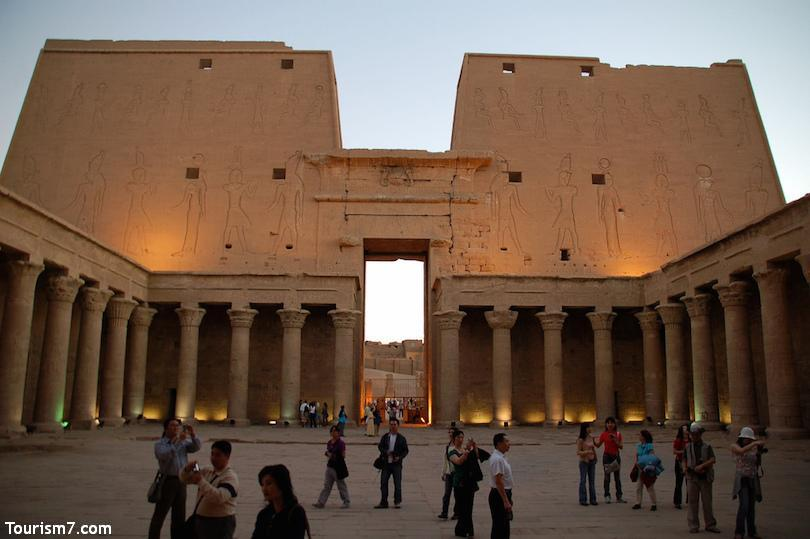 معابد توریستی مصر