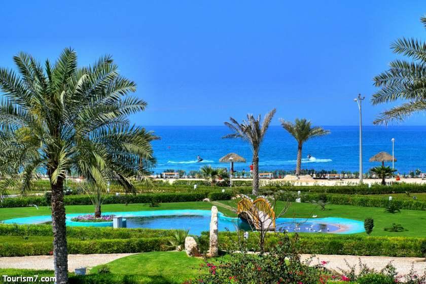 افتتاح پارک آبی و گردشگری در کیش
