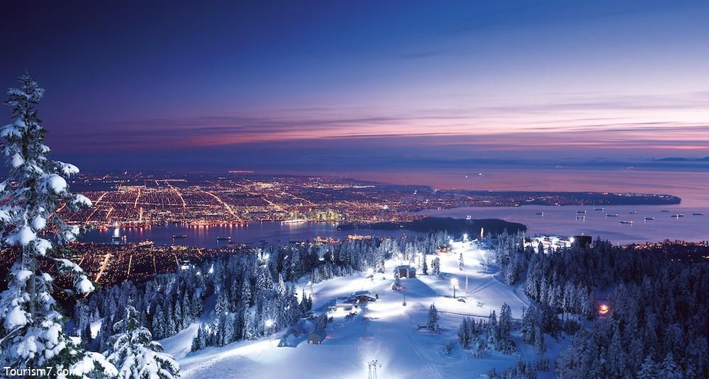 کوهستان گروز در ونکوور کانادا