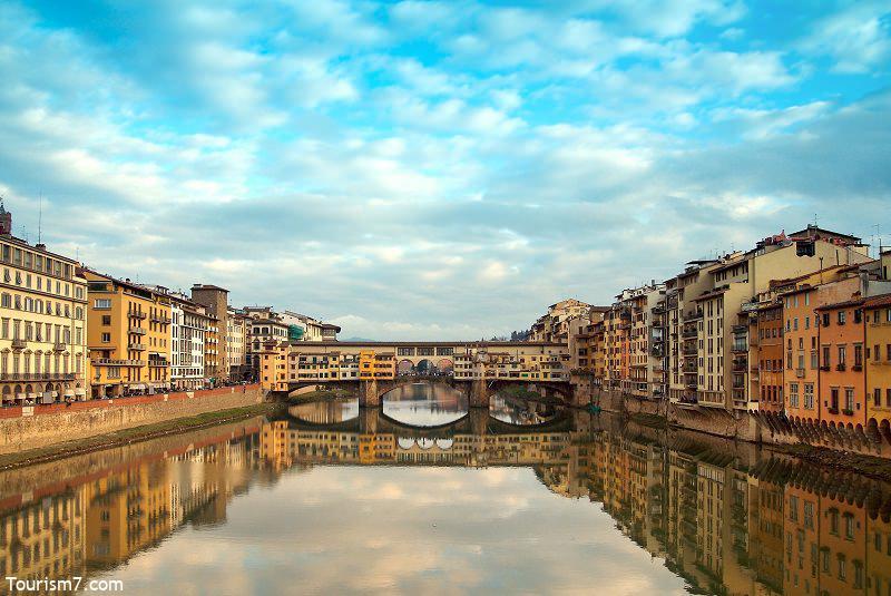 پل وکیو فلورانس در ایتالیا