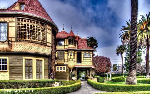 کاخ اسرارآمیز وینچستر در کالیفرنیا