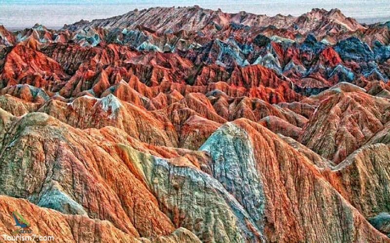 کوه های مینیاتوری در چابهار